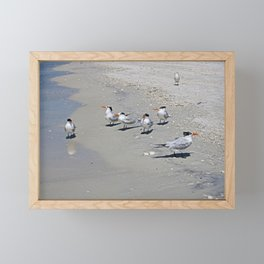 No Swimming Yet, Kids...Where IS Your Mother? Framed Mini Art Print