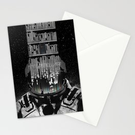 Interstellar Poster Stationery Cards