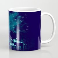 cosmic Mugs featuring Cosmic Safari by dan elijah g. fajardo
