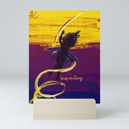 keep reaching Mini Art Print