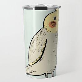 Happy Cockatiel Travel Mug