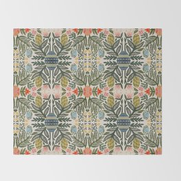 Pyansky Egg Plant Throw Blanket