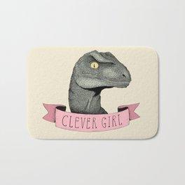 Clever Girl - Jurassic park Bath Mat