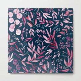 Eucalyptus Pink Metal Print