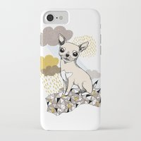 chihuahua iPhone & iPod Cases featuring Chihuahua by Camille Roy