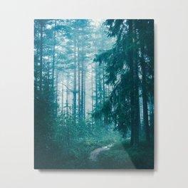 Peer Through The Trees Metal Print