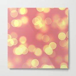 Soft Lights Bokeh 4B Metal Print