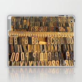 Type Drawer Laptop & iPad Skin