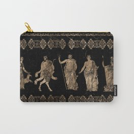 Greek Deities and Meander key ornament Carry-All Pouch
