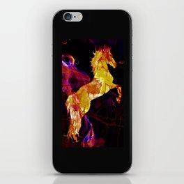 HORSE - War horse iPhone Skin