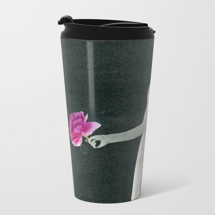 Curtain Down Metal Travel Mug