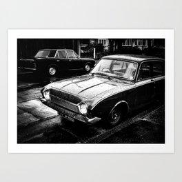 Cortina and Corsair Art Print