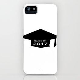 Class of 2017 Cap iPhone Case