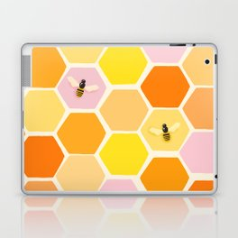 Busy As A Bee In A Hive Laptop & iPad Skin