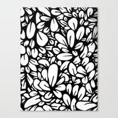 Crazy Flowers Canvas Print