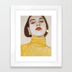 Close Up 16 Framed Art Print