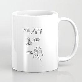 Anteaters who sing depressive hits Coffee Mug