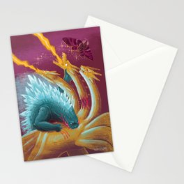 The Glowing God of Destruction Stationery Cards