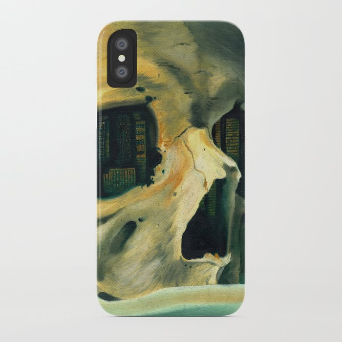 Civilizations Oil Painting iPhone Case