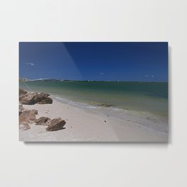 Exalted in the Sea Metal Print