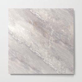 Marble textures Metal Print