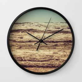 Ocean Crush Wall Clock