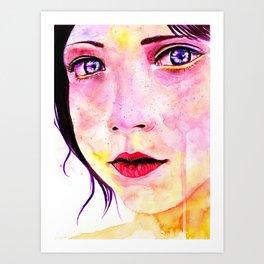 Carmine Art Print