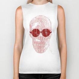 Unravel skull Biker Tank