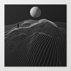Equal Night Canvas Print