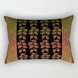 Gold Leaf, Home Furninshing Rectangular Pillow