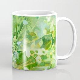 Myst Tree in Green by Laura Zollar Coffee Mug