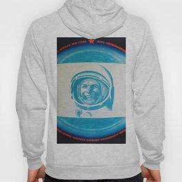 Russian Cosmonaut Poster Hoody