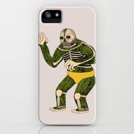 The Original Glowing Skull iPhone Case
