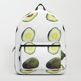 Avocado Watercolor Backpack