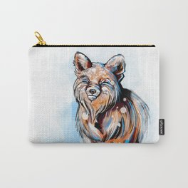 Snowy Fox Carry-All Pouch