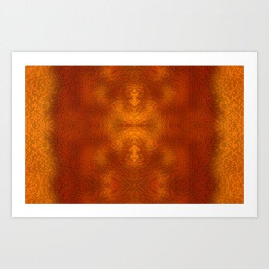 Alien within Art Print