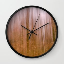 Enchanted forest Wall Clock