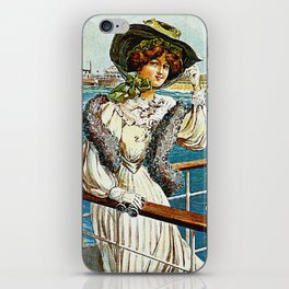 Vintage Southsea Portsmouth England Travel iPhone Skin
