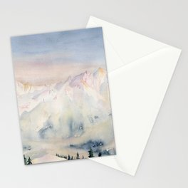 The Mountains Stationery Cards