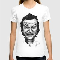 jack nicholson T-shirts featuring JACK NICHOLSON by Simone Bellenoit : Art & Illustration