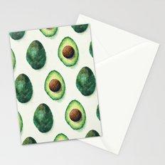 Avocado Pattern Stationery Cards