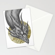 Silver Dragon Stationery Cards