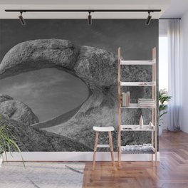 Mobius Arch Monochrome Wall Mural