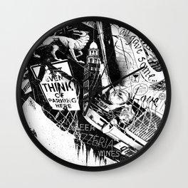 NYC_Stroll Wall Clock