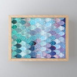 SUMMER MERMAID II Framed Mini Art Print