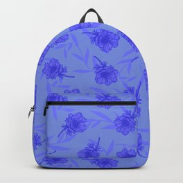 Anemone Field Blue Backpack