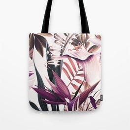 Magenta tropical Tote Bag