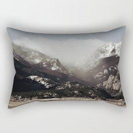 Snow Clouds Rectangular Pillow