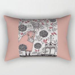 Winter Garden Rectangular Pillow