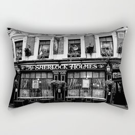 The Sherlock Holmes Pub London Rectangular Pillow